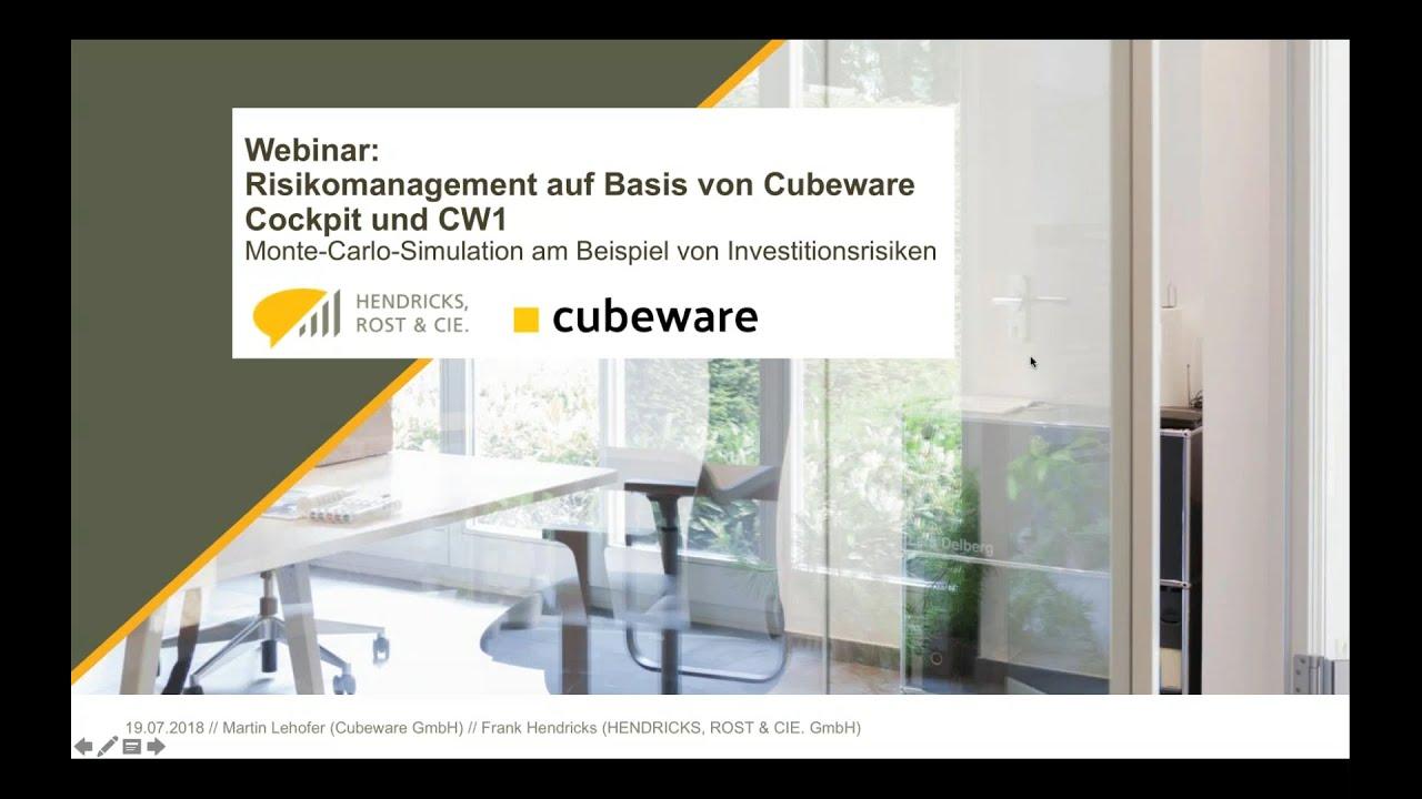 Risikomanagement mit Cubeware Cockpit & CW1