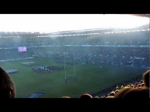 South Africa vs Scotland National Anthem on 17 Nov 2012_Rugby Game