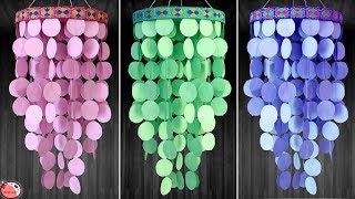 Paper wall decoration ideas || How to Make Paper wall Hangings at home
