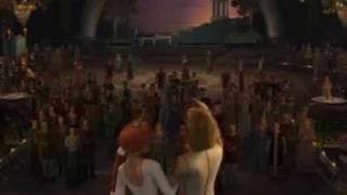 hallelujah shrek 2 music video