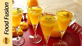 Mango Squash Recipe By Food Fusion
