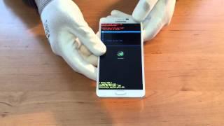 Samsung Note 4 N910F Hardreset Muster löschen Anleitung Deutsch