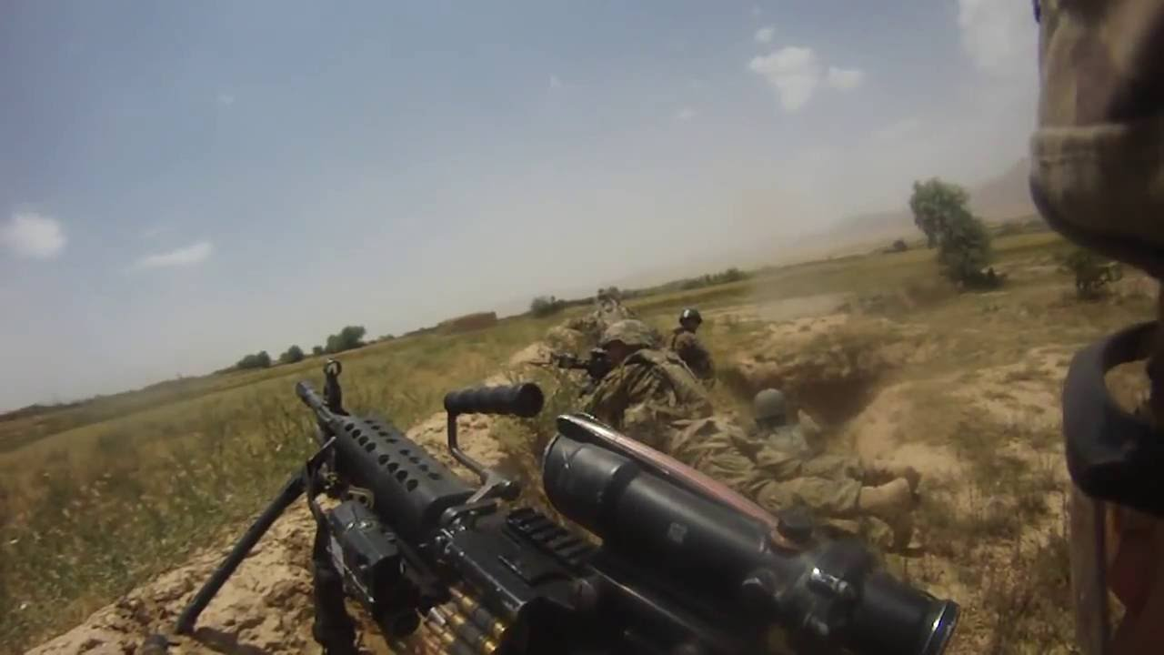 US Army - 1st Platoon Contact Afghanistan Raw Footage