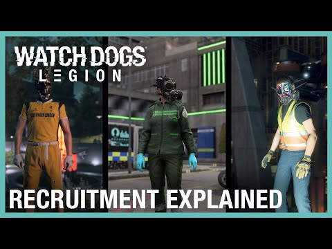 WTFF::: New in-engine trailer for Watch Dogs: Legion focuses on its recruitment system
