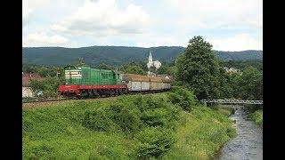 ESK081884 Freight trains Slovakia diesel locomotive 770 HBP dieselový rušeň nákladné vlaky Chrenovec