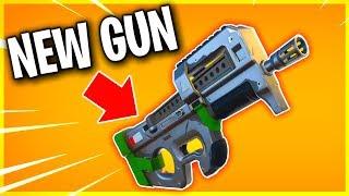 NEW GUN! LEAKED DAMAGE AND SOUND EFFECTS! (best gun in Fortnite! highest DPS!)