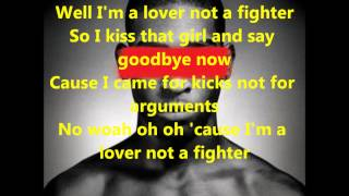 Tinie Tempah - Lover Not A Fighter ( Lyrics On Screen )
