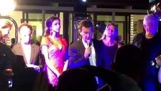 Antonio Banderas live win the Award at Ischia Global
