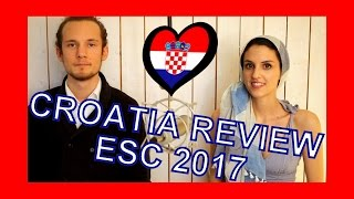 Eurovision 2017 - Reaction to Croatia Entry