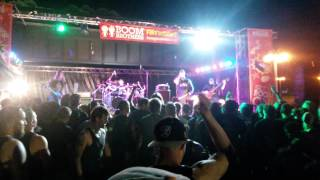 8 Foot Sativa - As It Burns - Live At Westfest Auckland New Zealand - 3/3/2015