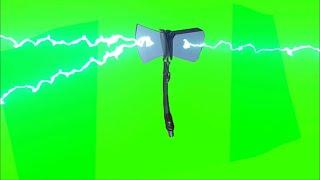 Green Screen Avengers Infinity War - Thor's Stormbreaker