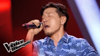 "Bayarjavhlan.B - ""When We Were Young"" - Blind Audition - The Voice of Mongolia 2018"