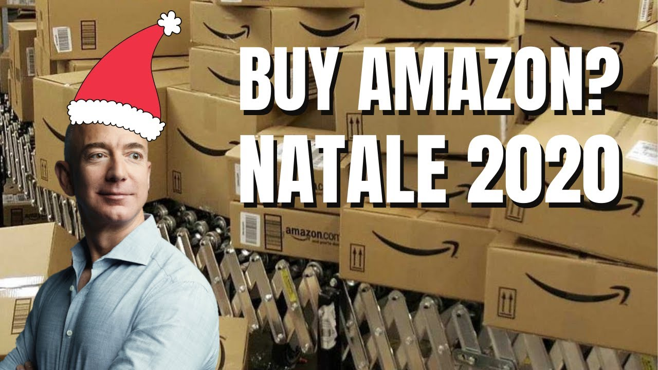 Azioni Amazon pronte a volare a Wall Street grazie al Natale 2020
