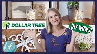 DOLLAR TREE DIY *WOWS* (ALL NEW!) 💚 Wrought Iron Decor, Fairy Lights, Farmhouse Style & More!