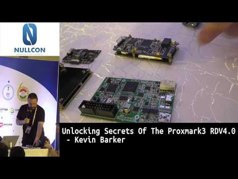 Unlocking secrets of the Proxmark3 RDV4.0 | Kevin Barker & Christian Herrmann