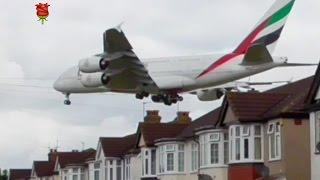 Plane Spotting **Myrtle Avenue ** Landing at London Heathrow Airport ✈️