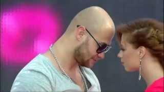 День России 2012 - Юлия Савичева и Джиган - Отпусти