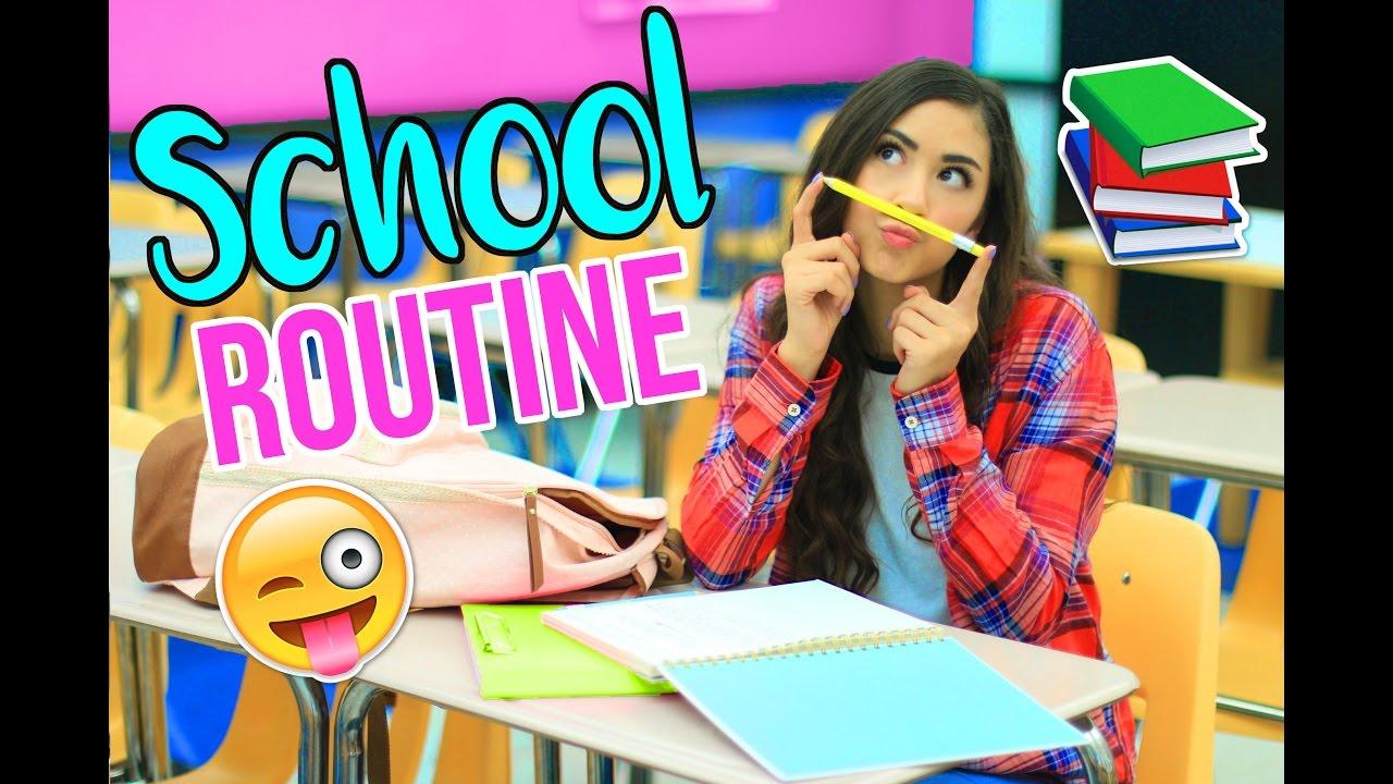 My School Routine! thumbnail