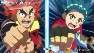 Xander vs valt  beyblade burst