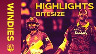 Windies v Bangladesh 2nd ODI 2018   Bitesize Highlights width=
