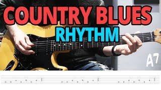 16-Bar Country-Blues Rhythm - Guitar Lesson