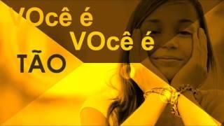 Video da Letra - Você é Tão Especial - Flávia Raquel