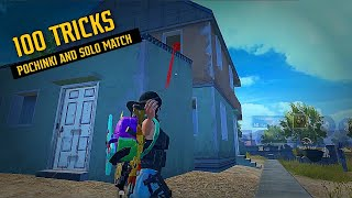 🔥 100 Tips and Tricks of Pochinki and Solo Rank pushing | Pubg mobile | Gamexpro