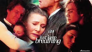 » star wars | just keep breathing; ft. the force awakens.
