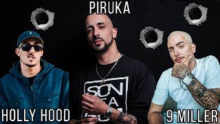 Piruka vs Holly Hood, 9 Miller & Dj Caíque ♫ (BEEF)
