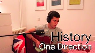 One Direction - History (cover) + GUITAR TUTORIAL | Pedro Rivas