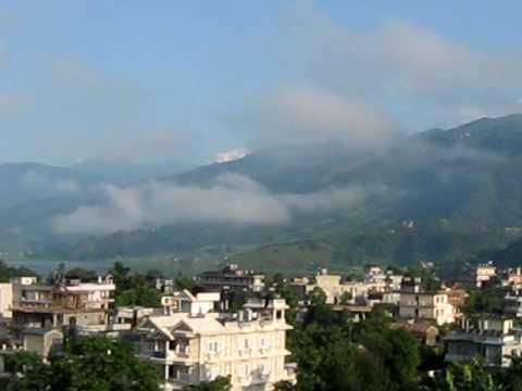 The Beautiful scenery around Pokhara, Nepal
