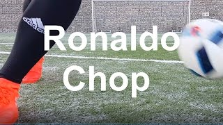 Cristiano Ronaldo Chop - Nasıl yapılır ?