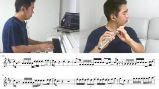 Despacito - Luis Fonsi Flute [Play Along]