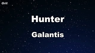 Hunter - Galantis Karaoke 【No Guide Melody】 Instrumental