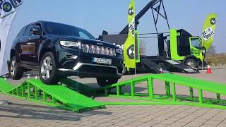 Jeep Grand Cherokee extreme test drive