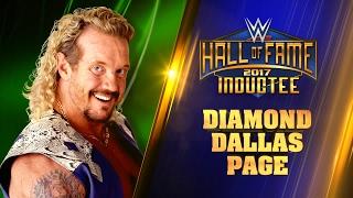 Presentación de Diamond Dallas Page como nuevo miembro del WWE Hall of Fame