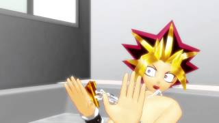[MMD Yugioh] Yugi and Yami are in trouble