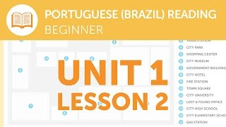 Portuguese Reading for Beginners - Reporting a Lost Item at the Station