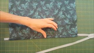 Super Easy Hidden Pillow Cover Zipper Install Demo