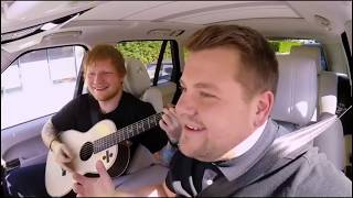 Ed Sheeran sings Love Yourself and That's Makes You Beautiful | (ft. James Corden) | Carpool Karaoke