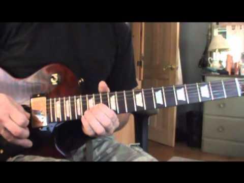 Aerosmith - Crazy: Guitar Solo Lesson (part two) Chords - Chordify