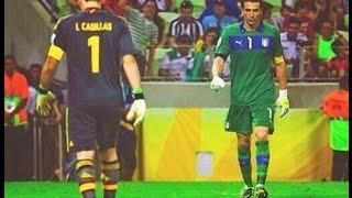 Iker Casillas vs Gianluigi Buffon ● Battle ● Best Save Show 2017 HD