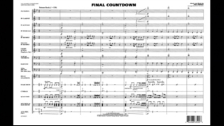 Final Countdown by Joey Tempest/arr. John Higgins