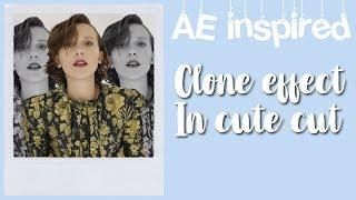 ae inspired clone effect in cute cut || missjayr19