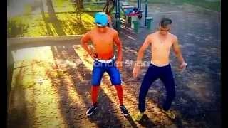 Que Saudade da Minha Ex Carlos Shark's e Jeffer Júnior dançando