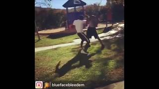 Blueface FIGHT!!!!!!