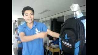 Quảng cáo đồng phục học viện hàng không Vn 2012
