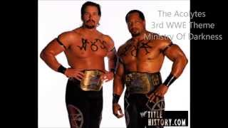 The Acolytes 2nd,Viscera 1st & Mideon WWE Theme