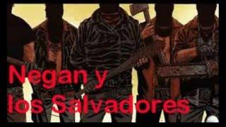Silbido Los Salvadores The Walking Dead