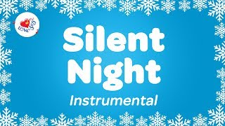 Silent Night Christmas Instrumental Music | Karaoke Christmas Song